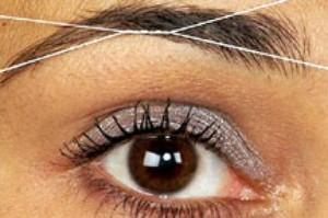 Nitkowanie czyli depilacja twarzy