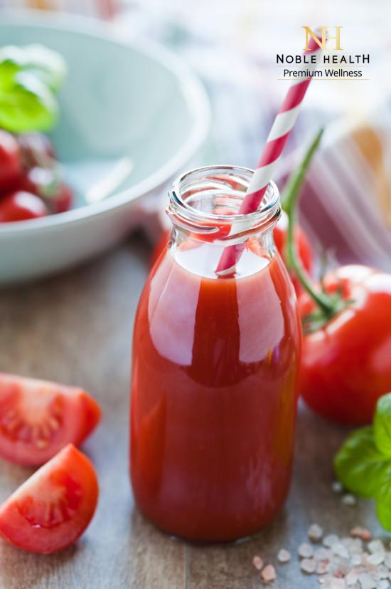 tomatensaft in der flasche